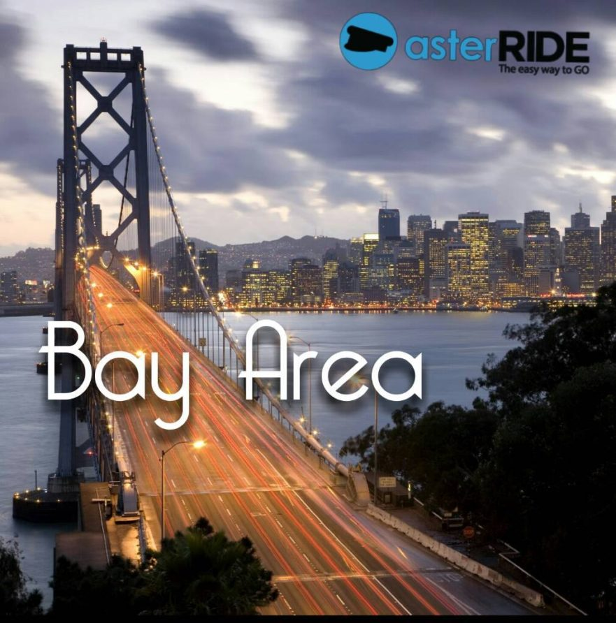 AsterRIDE serves the Bay Area