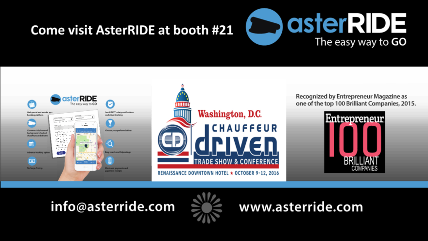 AsterRIDE Chauffeur Driven 2016